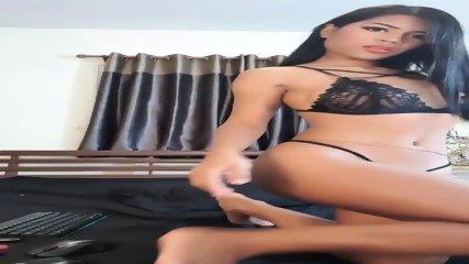 Luscious Phaelin teasing, sexual thai girl with horny eyes & horny breasts