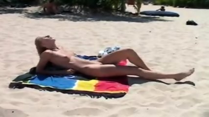Small recreational at unclothed beachfront