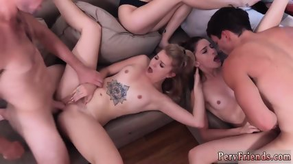 Funny pool party turns to orgy and she watches her boss Dorm Party