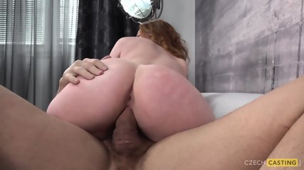 Hot Redhead Banged At Casting