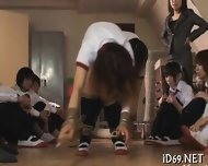 Gorgeous Babes Raucous Gangbang - scene 8