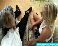 Cougar Moms Teaching Teen About Bjs - scene 11