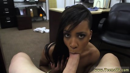 Dick between big boobs and ebony ass destroyed How could she say no?