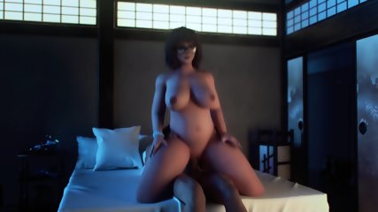 Overwatch Porn Mei Fucked Pussy
