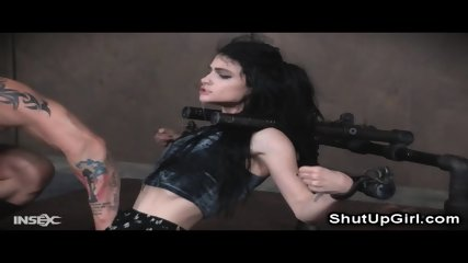 Goth Teen Extreme Throat Destruction!