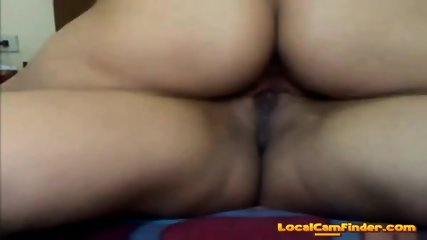 the world young brunette in the pool masturbates her pussy have faced it. can