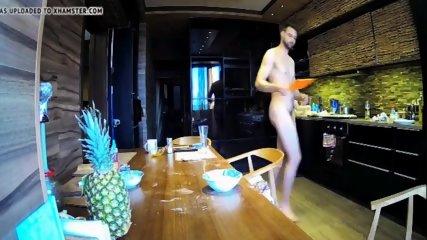 snr jane is cooking food naked 5