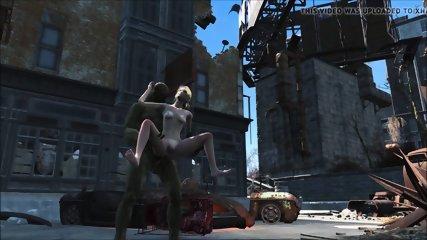 Fallout 4 Katsu sex experience chap.7 Supermutant butt