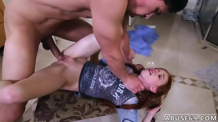 Teen girl loses anal virginity Dolly Little likes it Rough and Hard