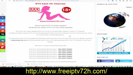 Porn IPTV 18+ Adult IPTV Links