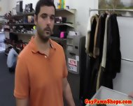 Pawnshop Amateur Wanking For Cash