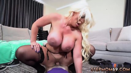 Blonde bath masturbation and milf big tits cam Step Mom s New Fuck Toy