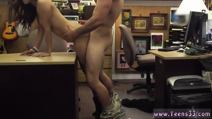 Huge tits College Student Banged in my pawn shop!
