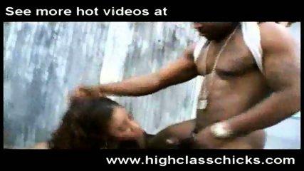 Ebony Slut having fun - scene 7