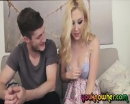 Samantha And Matt's First Amateur Porn Where His Dick Deep In Her Pussy