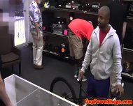 Pawnshop Ebony Amateur Jizzed On