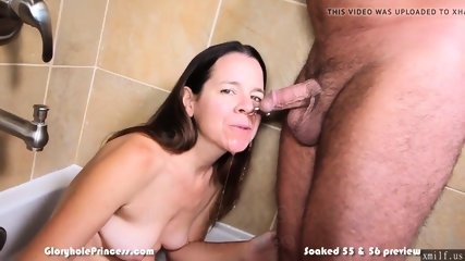 Piss soaked amateur housewife into golden showers by XMILF.US