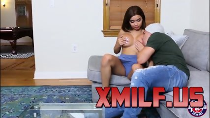 Aaliyah Hadid receives hot cum after sex by XMILF.US