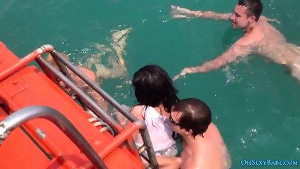Russian teen fuck in Thai sea