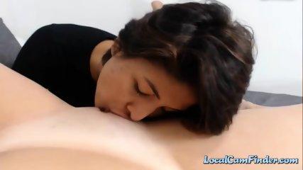 Lesbian Cam Girl Licks Her Sexy Girlfriends Wet Pussy Part 2