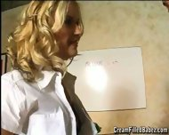 Aralyn Barra gets a taught a Lesson - scene 2