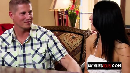 Swinger couples experiment something new sexually in an open Swing House. New episodes available now