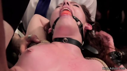 Babes in lingerie fucking in orgy bdsm