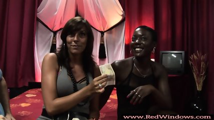 Black euro slut gets doggystyle fucked