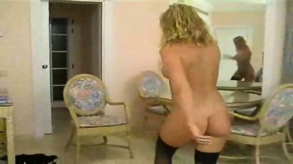 Blond stripping - scene 12