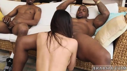 Real arab couple and blond girl first time My Big Black Threesome