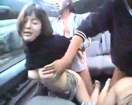 Japanese Car Sex - scene 12