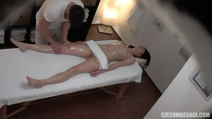 Girl Gets Intimate Massage