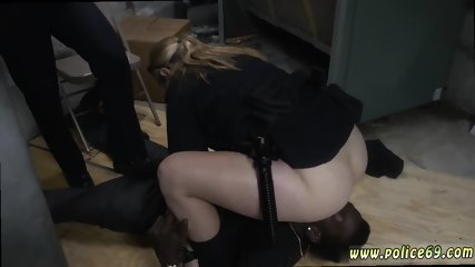 Pounding her hard amateur and 18 double penetration Domestic Disturbance Call