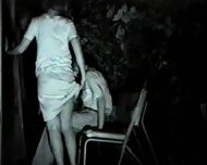 Two Asian Couples have Sex in a Park - scene 2