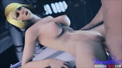 Sexy ass elf and other 3D heroes get hammered nicely