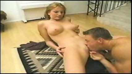 Blond babe gets fucked in the ass - scene 2