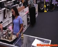 Real Nurse In Pawnshop Gives Bj For Cash