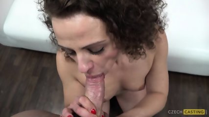 Curly Girl Takes Cock At Casting