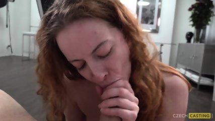 Amateur Redhead Veronika Blows And Fucks At Casting