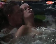 Big Brother - Sex in Pool - scene 8