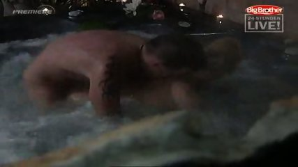 Big Brother - Sex in Pool - scene 11