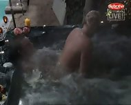 Big Brother - Sex in Pool - scene 12