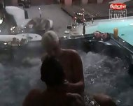 Big Brother - Sex in Pool - scene 2