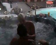 Big Brother - Sex in Pool - scene 2