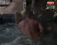 Big Brother - Sex in Pool - scene 3