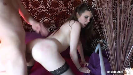 Toy In Ass, Cock In Pussy