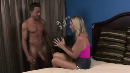 Cheating MILF Fucks Step Son And His Friends When Hubbys Away!
