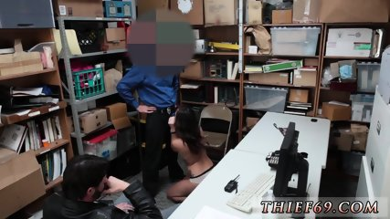 Teen and older guy first time Apprehension by LP cop ensued.