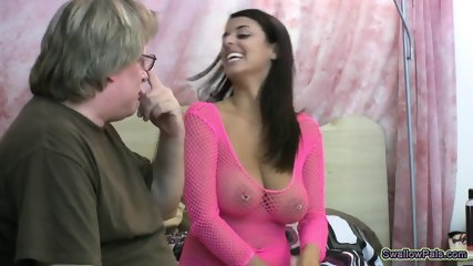 Ela s First Time Sucking Cock On Video