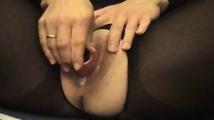 Creampie in Bodystocking - scene 2